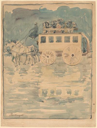 Maurice Brazil Prendergast, 'Parisian Omnibus', 1893/1894