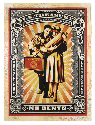 Shepard Fairey, 'Proud Parents', 2019