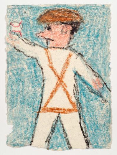 James Castle, 'Untitled (Baseball player)', n.d.