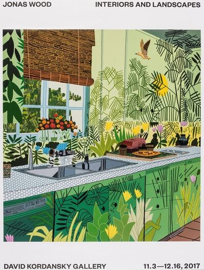 Jonas Wood, 'A Poster for Interiors and Landscapes 2017', 2017