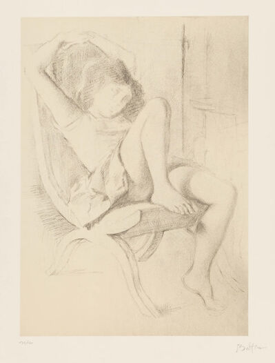Balthus, 'Portrait of a Girl, from Dessins'
