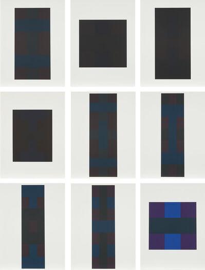 Ad Reinhardt, 'Ten Screenprints portfolio: nine plates', 1966