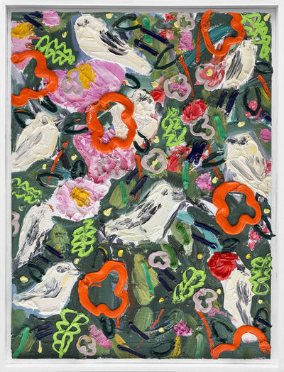 Georgina Gratrix, 'Wallpaper for Birds', 2019
