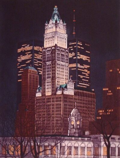 Frederick Mershimer, 'Woolworth Building', 1989