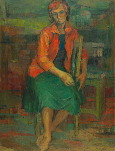 Moses Soyer, 'Untitled (Portrait of a Woman)'