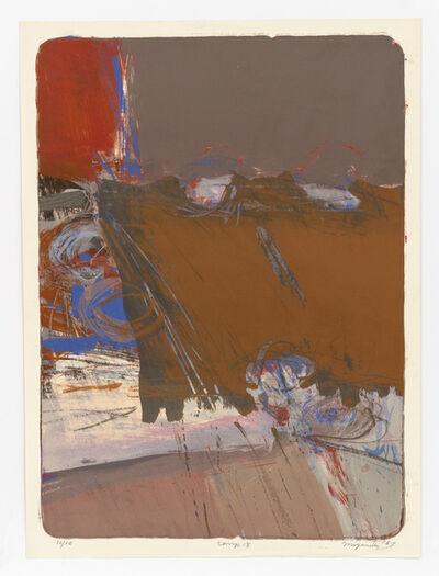 George Miyasaki, 'Comp 18', 1957