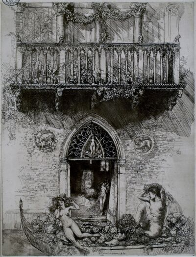 Donald Shaw MacLaughlan, 'House of Ceres, Venice', 1910