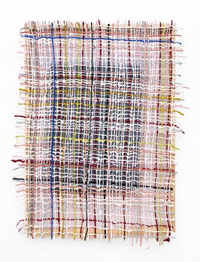 Gabrielle Kruger, 'Pasted Weave', 2019