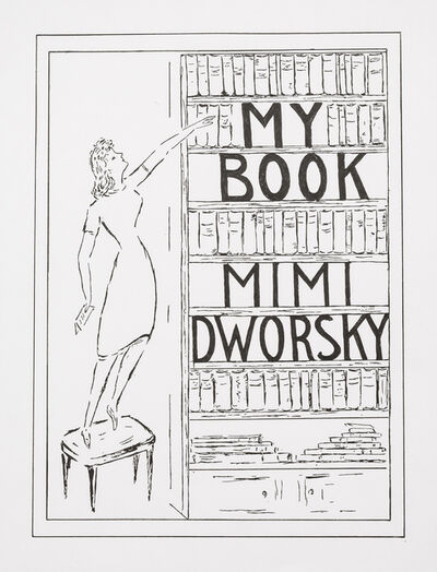 "Charles LeDray, '""My Book"" Mimi Dworsky', 2018"
