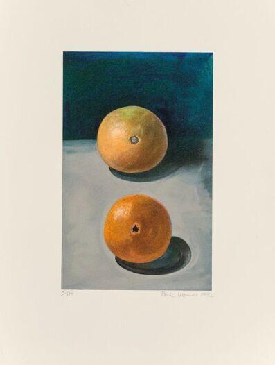 Paul Wonner, 'Two Oranges', 1992