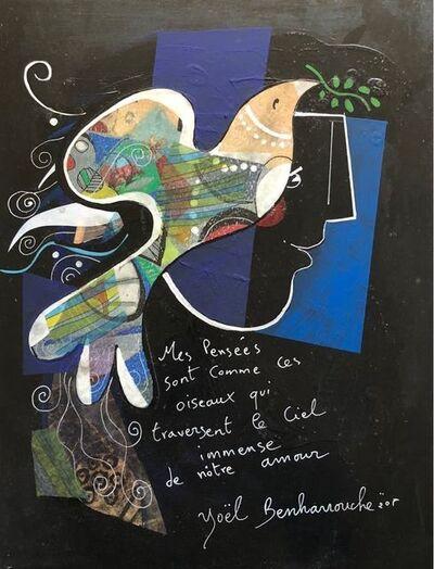 Yoël Benharrouche, 'Mes pensées sont comme ces oiseaux...', 2018