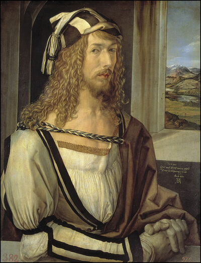 Albrecht Dürer, 'Self-Portrait', 1493