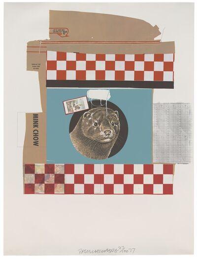Robert Rauschenberg, 'Mink Chow (Chow Bags)', 1977