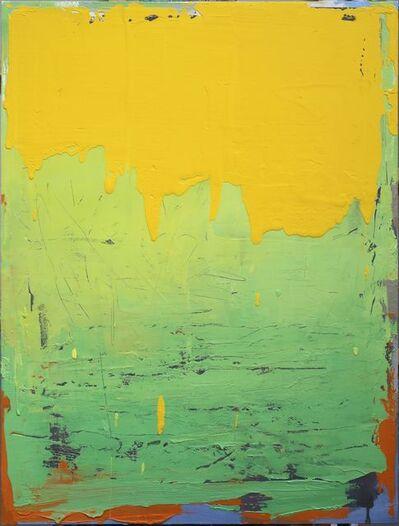 Feng Lianghong 冯良鸿, 'Yellow 17-13-21', 2017