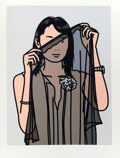 Julian Opie, 'Hijiri with veil. 2005', 2005