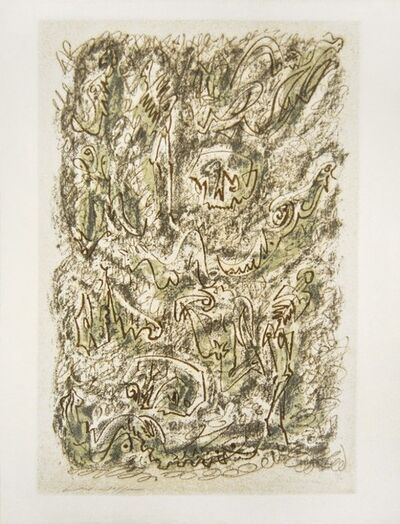 André Masson, 'Bones And Chrysalids', 1955