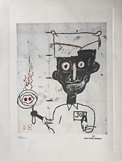 Jean-Michel Basquiat, 'Eyes and Eggs', Unknown