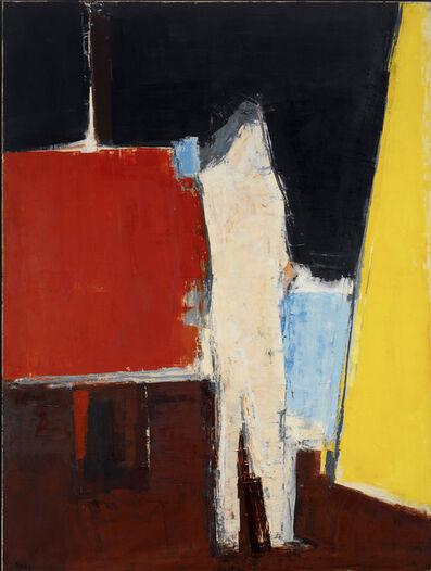 Peter Kinley, 'Standing Figure in Studio Interior', 1961