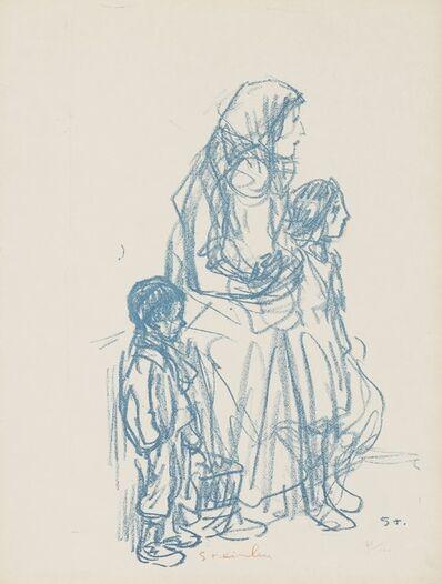 Theophile Steinlen, 'Maternity'
