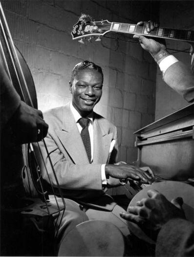 Herman Leonard, 'Nat King Cole, NYC', 1949