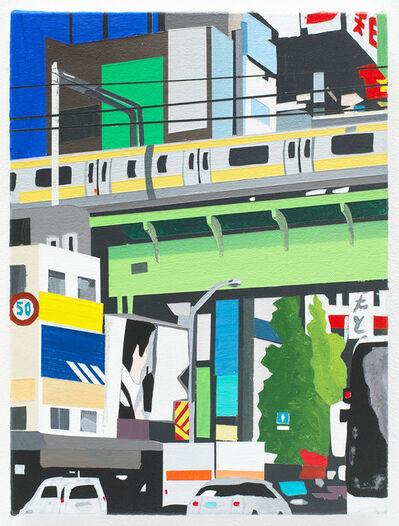 Brian Alfred, 'Akihabara with Naoki', 2016