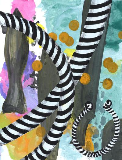 Marjolijn De Wit, 'Gouaches #37', 2019