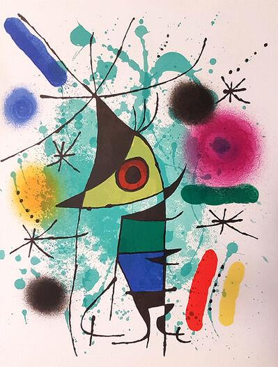 Joan Miró, 'Mirò Lithographe I - Plate XI', 1972