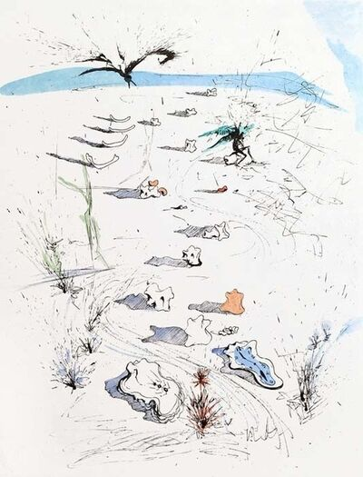 Salvador Dalí, 'Apollinaire Suite: The Trenches', 1967