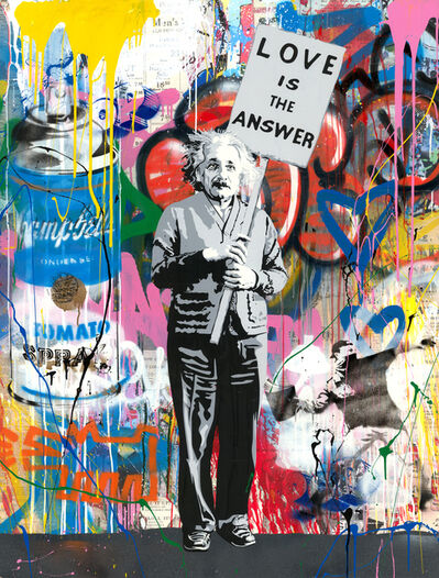 Mr. Brainwash, 'Einstein', 2019