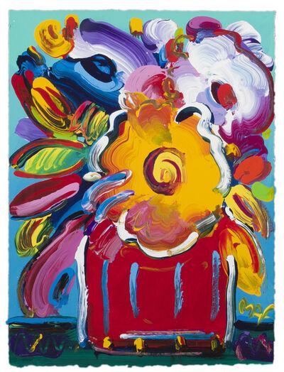 Peter Max, 'Floral still life', 1996