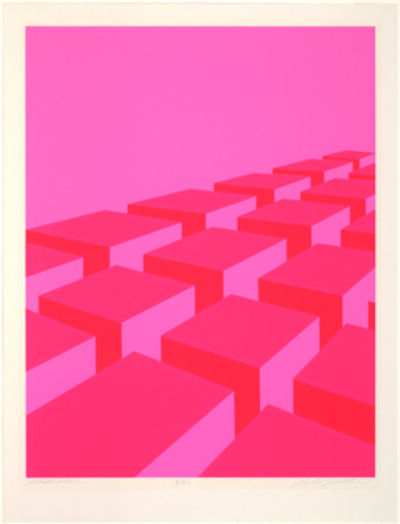 Marko Spalatin, 'Strato Cubes', 1969