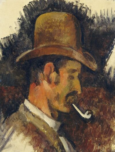 Paul Cézanne, 'Man with Pipe', 1892/1896