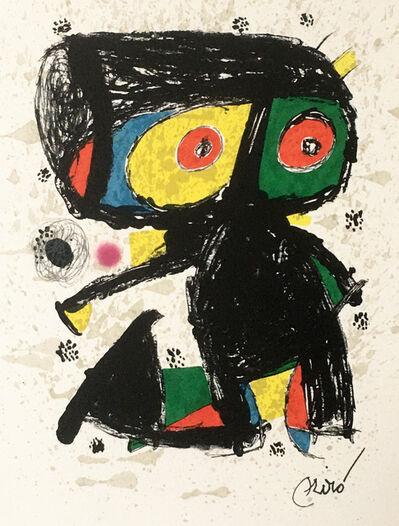 Joan Miró, 'Polígrafa XV Anos', 1979