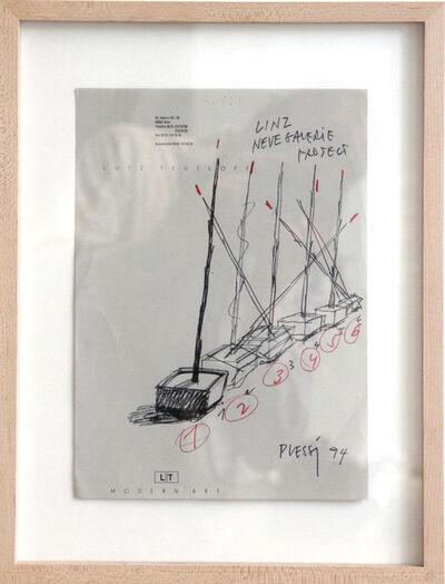Fabrizio Plessi, 'Linz Neue Galerie Project', 1994