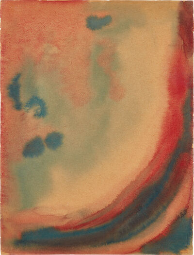 Georgia O'Keeffe, 'Red and Green III', 1916
