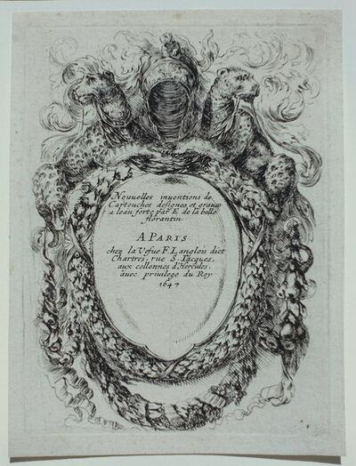 Stefano Della Bella, 'Nouvelles inventions de cartouches', 1647