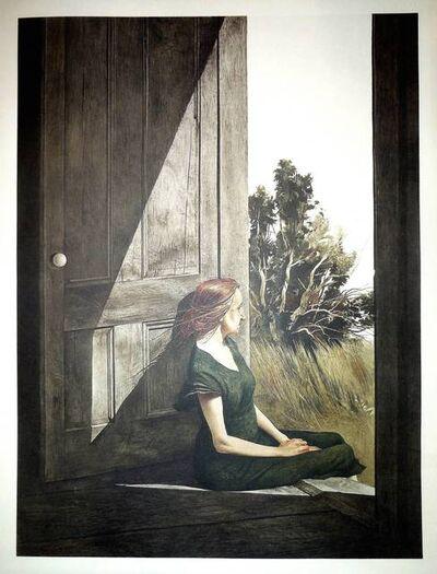 "Andrew Wyeth, 'Rare ""Christina Olson"" 1956 Collotype'"