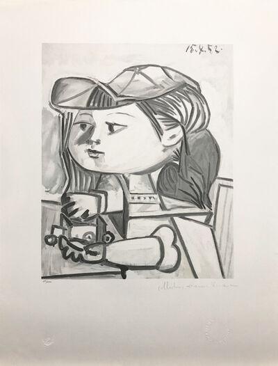 Pablo Picasso, 'BUSTE DE PETITE FILLE', 1979-1982