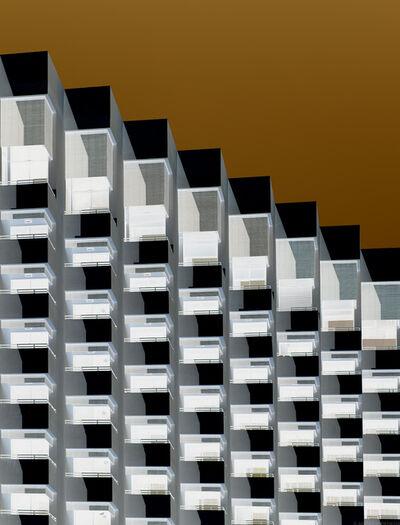Andrew Prokos, 'Inverted - ZigZag Facade #1, Dubai', 2020
