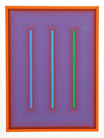 Richard Anuszkiewicz, 'Sequential IX', 1972