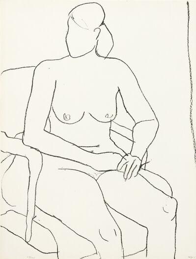 Richard Diebenkorn, 'Seated Nude', 1965