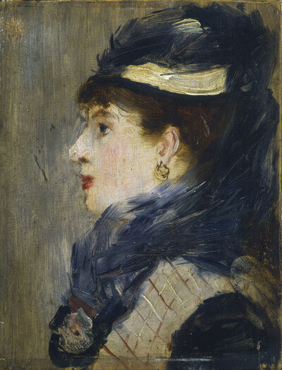 Édouard Manet, 'Portrait of a Lady', ca. 1879