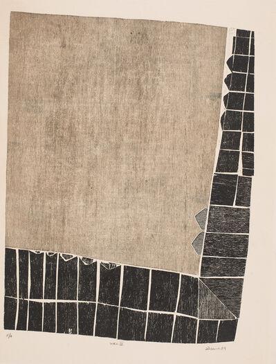 Zarina Hashmi, 'Wall III', 1969