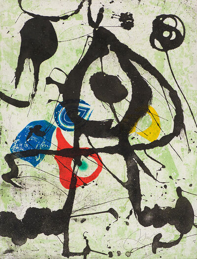 Joan Miró, 'Grans Rupestres VI (Large Cave Paintings)', 1979