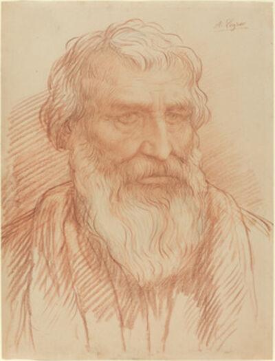 Alphonse Legros, 'Study of a Head'