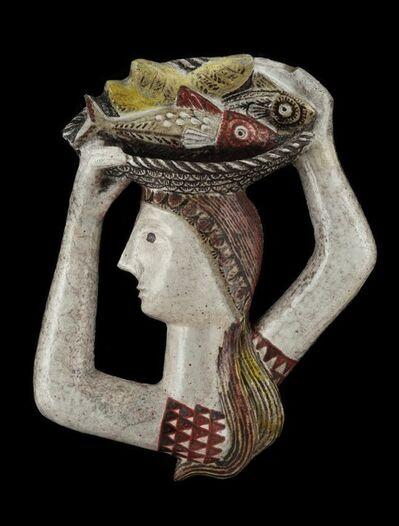 Jean Derval, 'Femme au Panier de Poissons', ca. 1960