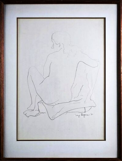 George Sugarman, 'Nude', 1951
