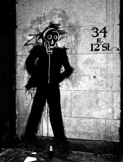Hank O'Neal, 'Richard Hambleton Shadowman with Basquiat- 34 E 12th Street)', 2009