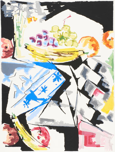 Jacob Lawrence, 'Morning Still Life', 1976