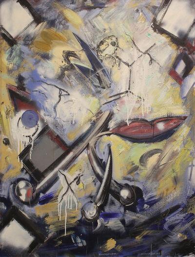 Christian Ludwig Attersee, 'Zimmertau', 1988